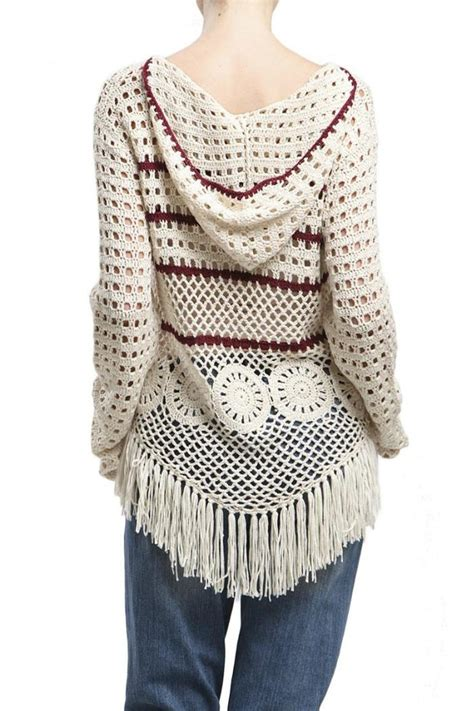 knit fringe pepper knit fringe sweater from new jersey by