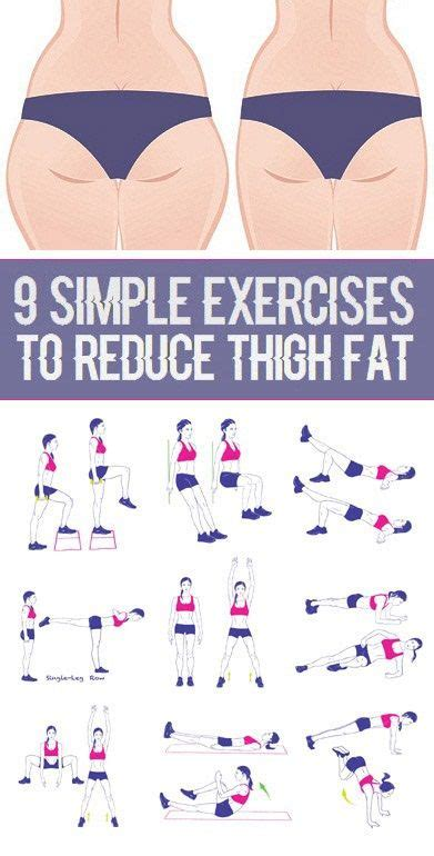 Lose Weight Lose Cellulite by 9 Simple Exercises To Reduce Thigh Weight Loss Tips