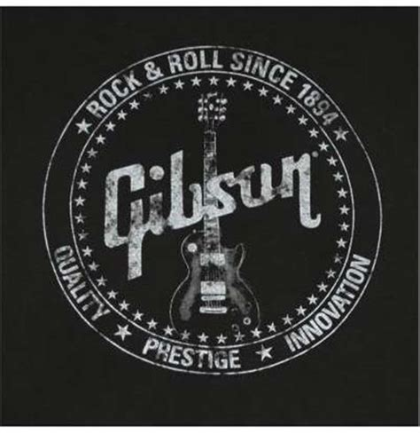 Gibson Usa Logo Black T Shirt gibson guitar prestige t shirt for only 163 19 82 at