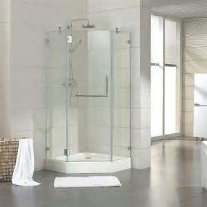 40 quot x 40 quot eero neo angle shower enclosure shower bathroom