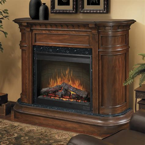 Electric Fireplace With Mantel Dimplex Carlyle 62 Inch Electric Fireplace With Purifire Burnished Walnut Sop 475 Bw