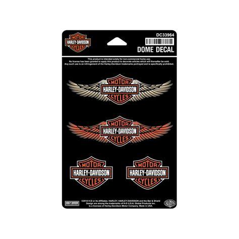 Harley Aufkleber Set by Harley Davidson Aufkleber Set Straight Wings Im