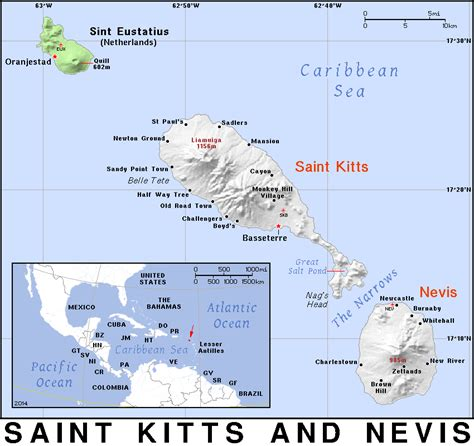 st kitts and nevis map kn 183 kitts and nevis 183 domain maps by pat