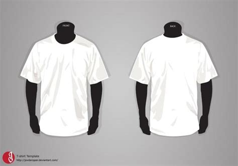 41 Blank T Shirt Vector Templates Free To Download T Shirt Design Template Free