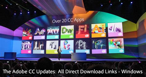 all adobe cc 2013 updates the direct links for