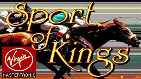 the sport of kings sport of kings gameplay pc game 1986 youtube
