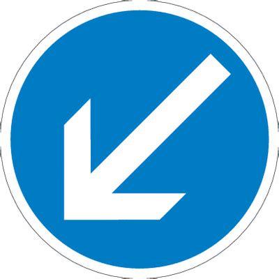 Baustellenschild Vz by Verkehrsschilder Quot Fahrtrichtung Hier Links Vorbei Quot 222