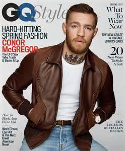gq magazine haircuts conor mcgregor covers gq style talks fame value