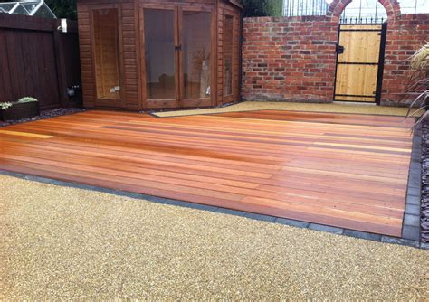 Driveway And Patio Company Hardwood Decking Ashwood Services