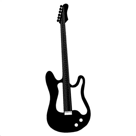 guitar wall stickers electric guitar wall decal removable guitar wall sticker