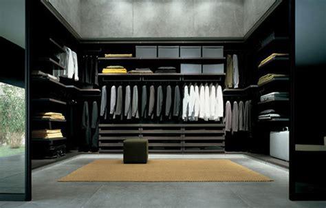 Black Closet System Ubik System Walk In Wardrobes By Poliform Architonic