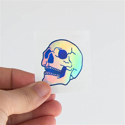 hologram tattoo calavera holographic tattoonie tattooforaweek