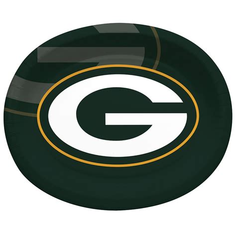 green bay packers oval platter home office