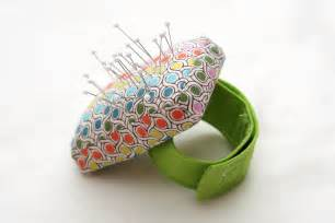 Wrist Pin Cushion Pattern Stitched By Tutorial Wrist Pincushion