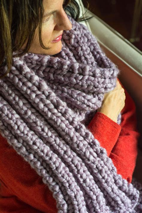 knitting pattern scarf size 8 needles aesthetic nest knitting ribbed knit maxi scarf in pastel