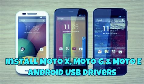 android driver for windows how to install moto x moto g moto e usb drivers windows mac