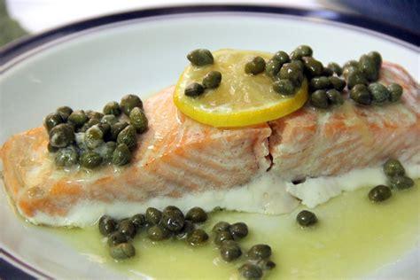 lemon caper butter sauce for salmon