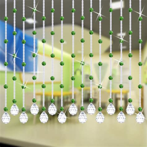 curtain beads design 20m 100 crystal beads rope curtain bedside living room