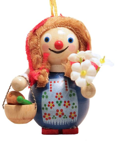 steinbach little red riding hood with flowers german