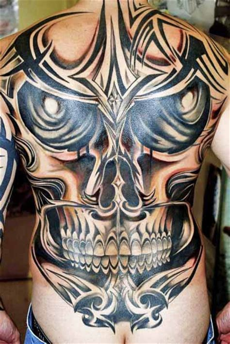 tattoo flash back tribal skull tattoos high quality photos and flash