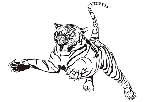 color in pictures pictures to colour tigers