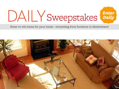 Better Home And Garden Sweepstakes - win bhg com win items for your home from furniture to kitchenware everyday in
