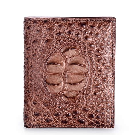 handmade genuine crocodile leather wallet crocodile