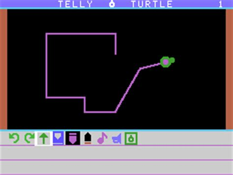 logo turtle software serious classification telly turtle 1983