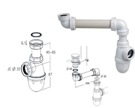 montage syphon evier siphon lavabo d 233 233 216 32 d151299a sanitaire