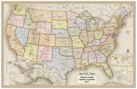 usa wall map usa antique wall map maps