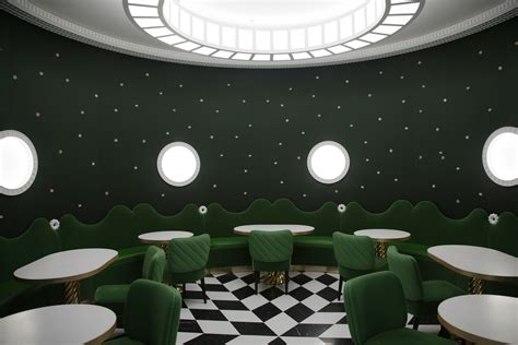 india mahdavi  designed  cafe  laduree stylepark