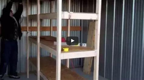 Garage Organization Lifehacker 20 Diy Garage Shelves To Meet Your Storage Needs Home