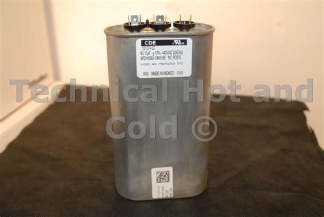 run capacitor y4609 lennox ac dual capacitor 28 images 53h27 lennox 53h27 35 5 mfd oval dual capacitor 440v
