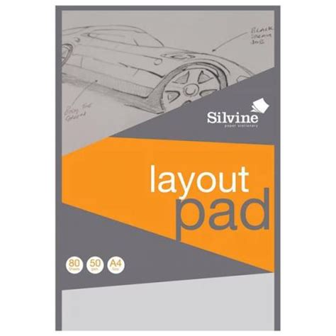 office layout essay silvine a4 layout pad bank paper acid free 50gsm 80