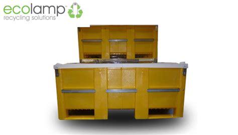 fluorescent l disposal waste management new sl2000 pallet box weee waste storage fluorescent