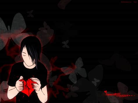 wallpaper animasi emo animasi emo anime wallpaper