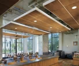 floating ceiling system interior design