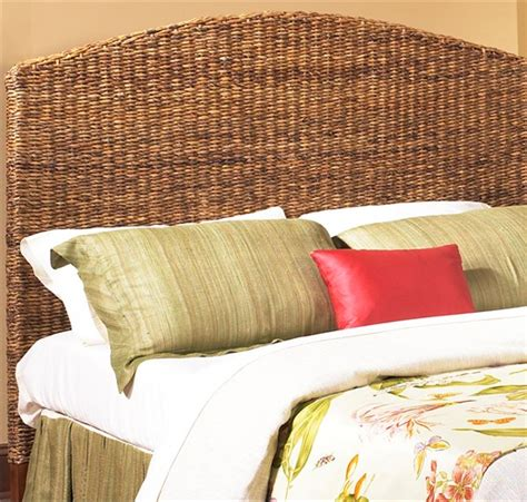 Seagrass Headboard Full Size Wicker Paradise