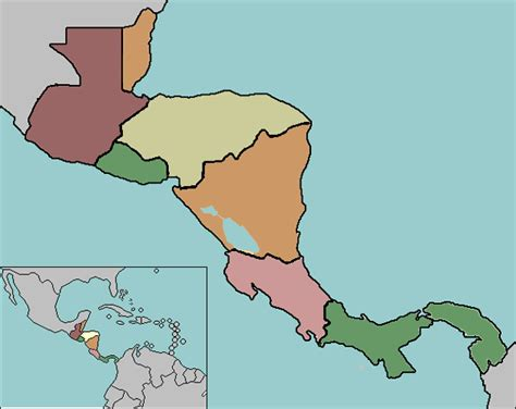 map of america test test your geography knowledge central america countries