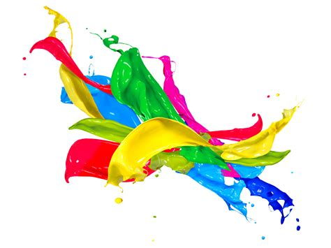 paint splash colors design free images at clker com