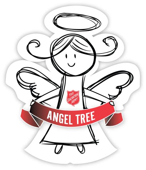 salvation army angel tree logo the salvation army silicon valley volunteer