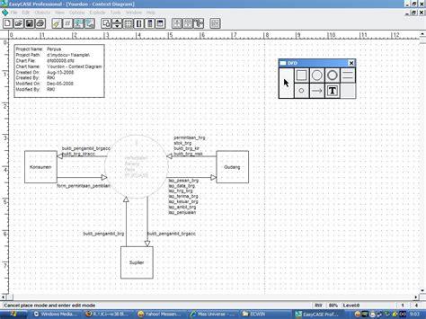 membuat erd dengan easycase aplikasi software gratis easycase