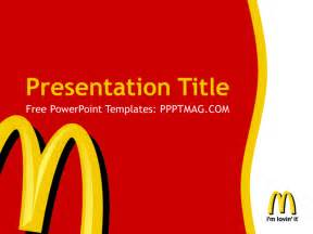 powerpoint mac templates free mcdonald s powerpoint template pptmag