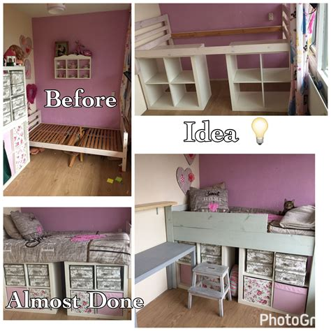 ikea kallax ikea hack making  bed kids room