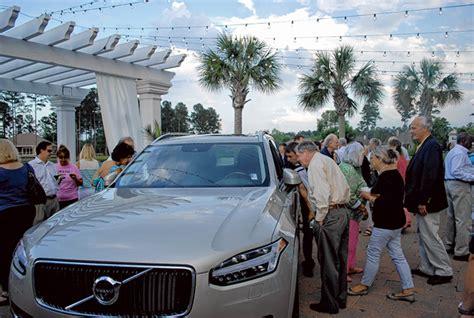 local volvo dealership local volvo dealership unveils new luxury model the