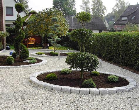 gartengestaltung mit kies und steinen modern nowaday garden