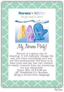 Norwex party at woodlands circle rankin county party invitations