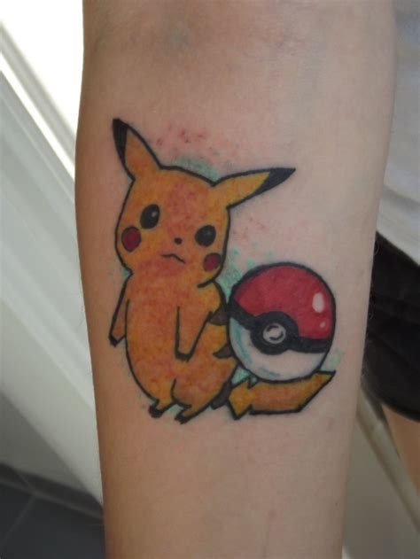 pikachu tattoo designs pikachu barbs pikachu