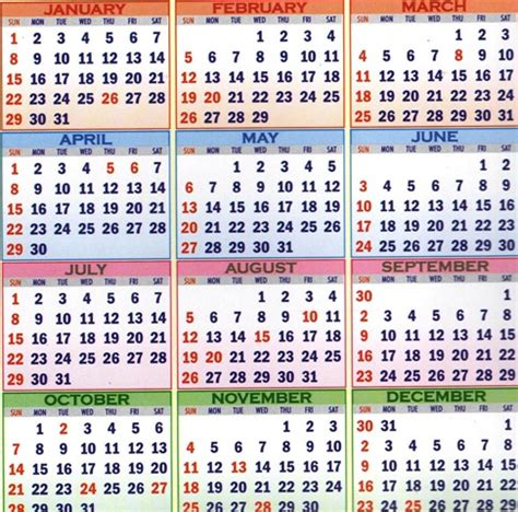 Calendar 2018 Rh Gh Gazetted Holidays Restricted Holidays Disciplinary And