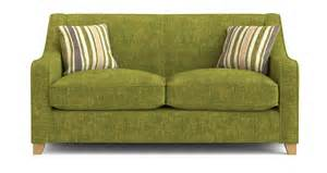 dfs lime green fabric 2 seater sofa bed ebay